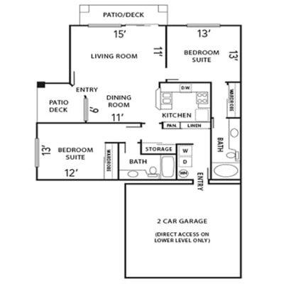 Plan B floorplan
